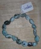 Bracelet baroque en Larimar