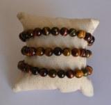 Bracelet 3 Oeils - Perles 8mm
