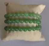 Bracelet Aventurine verte - Perles 8mm