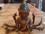 Bouddha en laiton - 2.23kg