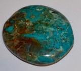 Chrysocolle - Galet - 3.5x3.5x1cm - 18 à 25g