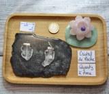 Pendentif Cristal de roche - Quartz à âme