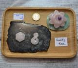 Pendentif Quartz rose (Sceau de salomon / Lemniscat)