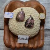 Pendentif Rhodonite