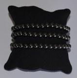 Bracelet Hématite - Perles 6mm