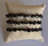 Bracelet Hyperstène Graine