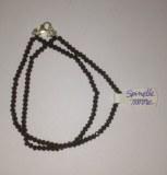 Bracelet Spinelle noire