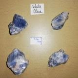Calcite bleue - Morceau entre 70 et 110 gr