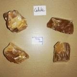 Calcite miel - Morceau entre 110 et 150 gr