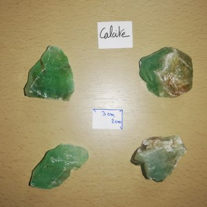 Calcite verte - Morceau entre 60 et 80 gr