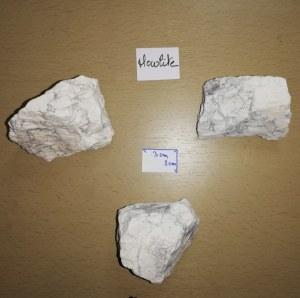 Howlite - Morceau entre 140 et 190 gr