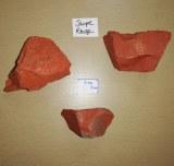 Jaspe rouge - Morceau entre 120 et 140 gr