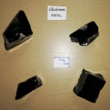 Obsidienne noire - Morceau entre 60 et 90 gr
