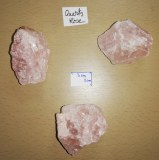 Quartz Rose - Morceau entre 160 et 200 gr