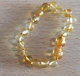 bracelet ambre bébé unicolore