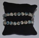 Bracelet K2 - Perles 8mm