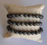 Bracelet Larvikite - Perles 8mm