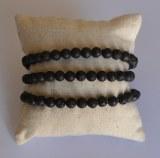 Bracelet Lave - Perles 6mm