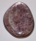 Lépidolite - Galet - 3x3x0.8cm - 12 à 16g