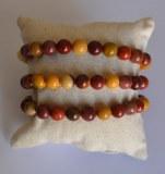 Bracelet Mokaïte - Perles 8mm