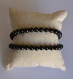 Bracelet Obsidienne oeil céleste - Perles 6mm