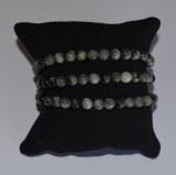 Bracelet Oeil de chat - Chrysobéryl - Perles 6mm