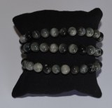 Bracelet Oeil de chat - Chrysobéryl - Perles 8mm