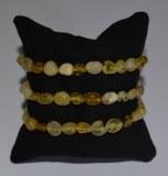 Bracelet Opale jaune - Baroque