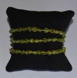 Bracelet Péridot Olivine - Baroque