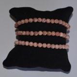 Bracelet Rhodocrosite - Perles 4mm