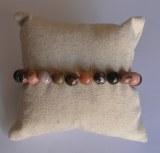 Bracelet Rhodonite - Perles 4mm