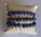 Bracelet Sodalite - Perles 8mm dépolies