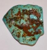 Turquoise - 2x2x0.9cm - 4 à 8g